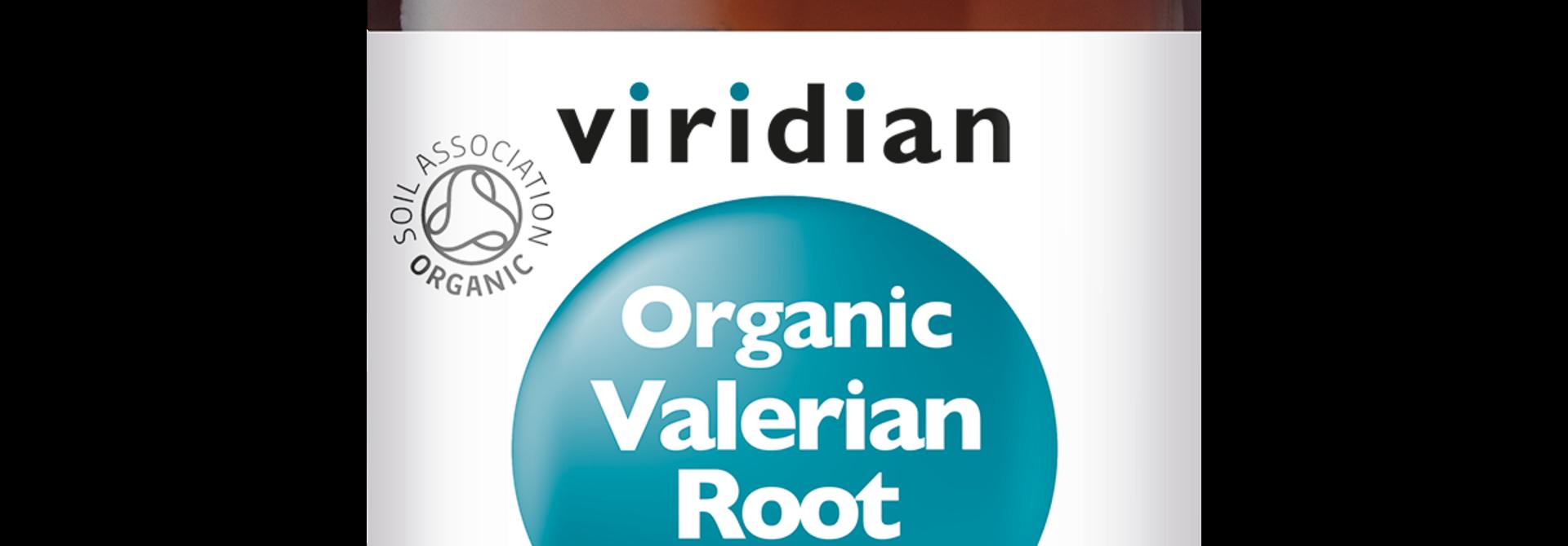 Organic Valerian Root 60 plantaardige capsules