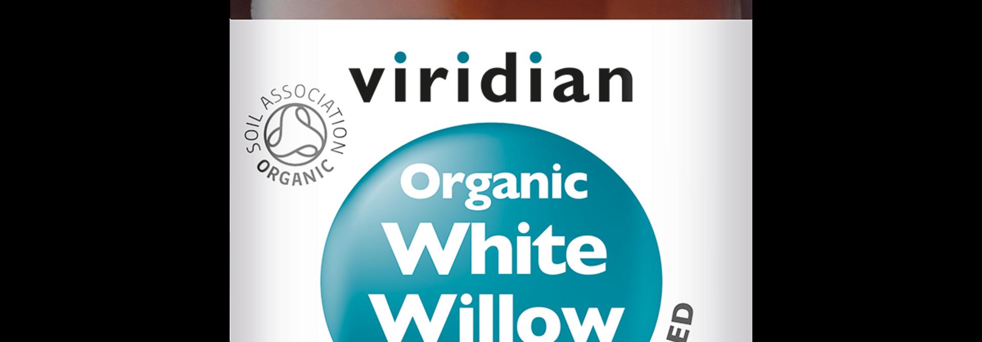 Organic White Willow 30 plantaardige capsules