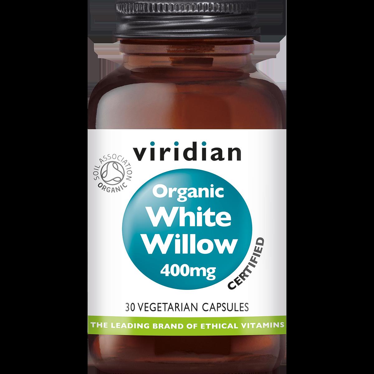 Organic White Willow 30 plantaardige capsules-1