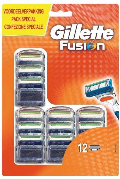 Gillette Fusion 12 stuks