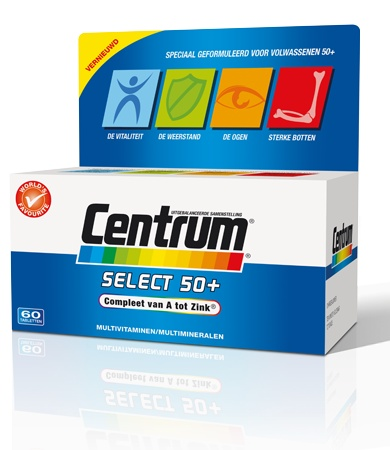 Centrum select 50+ 60 tabletten-1