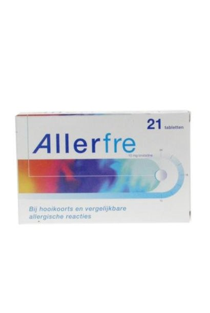Allerfre Antihooikoorts 21 tabletten 10mg