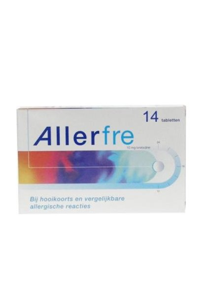 Allerfre Antihooikoorts 14 tabletten 10mg