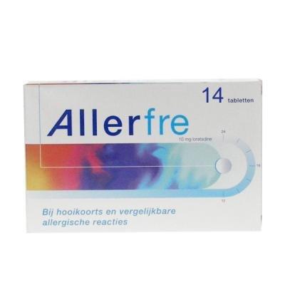 Allerfre Antihooikoorts 14 tabletten 10mg-1