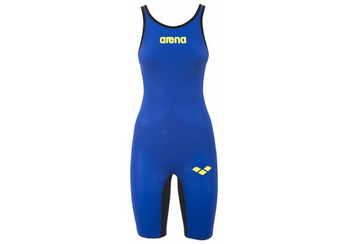 Arena Powerskin Carbon Air Dichte Rug Blauw