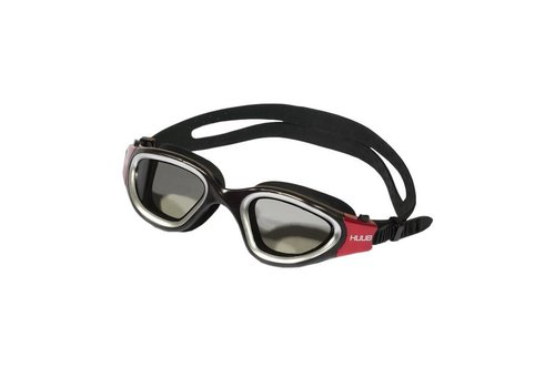 HUUB Zwembril Aphotic Zwart-Rood