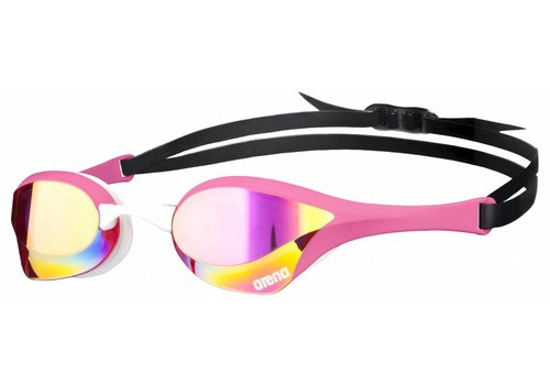 Arena Zwembril Cobra Ultra Spiegel Roze-Revo-Wit