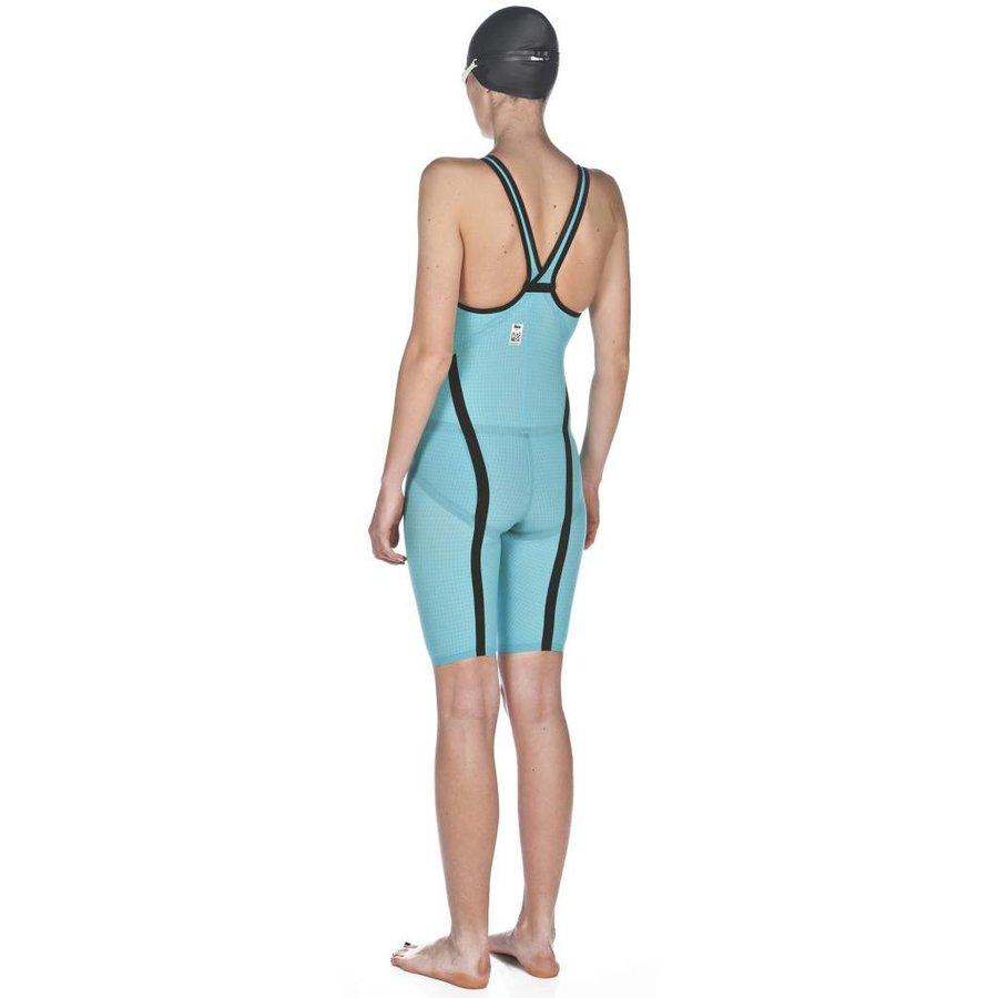 Arena Powerskin Carbon Flex VX Dichte Rug Turquoise-Zwart