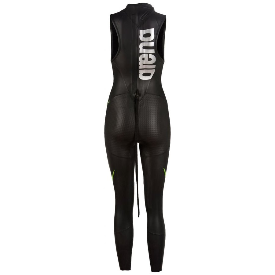 Arena Wetsuit Carbon Black Sleevless Dames