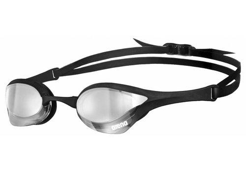 Arena zwembril Cobra Ultra Spiegel Zilver-Zwart