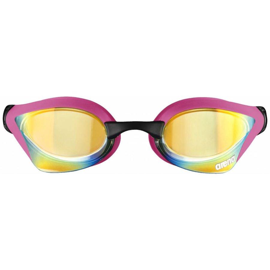 Arena zwembril Cobra Core Spiegel roze