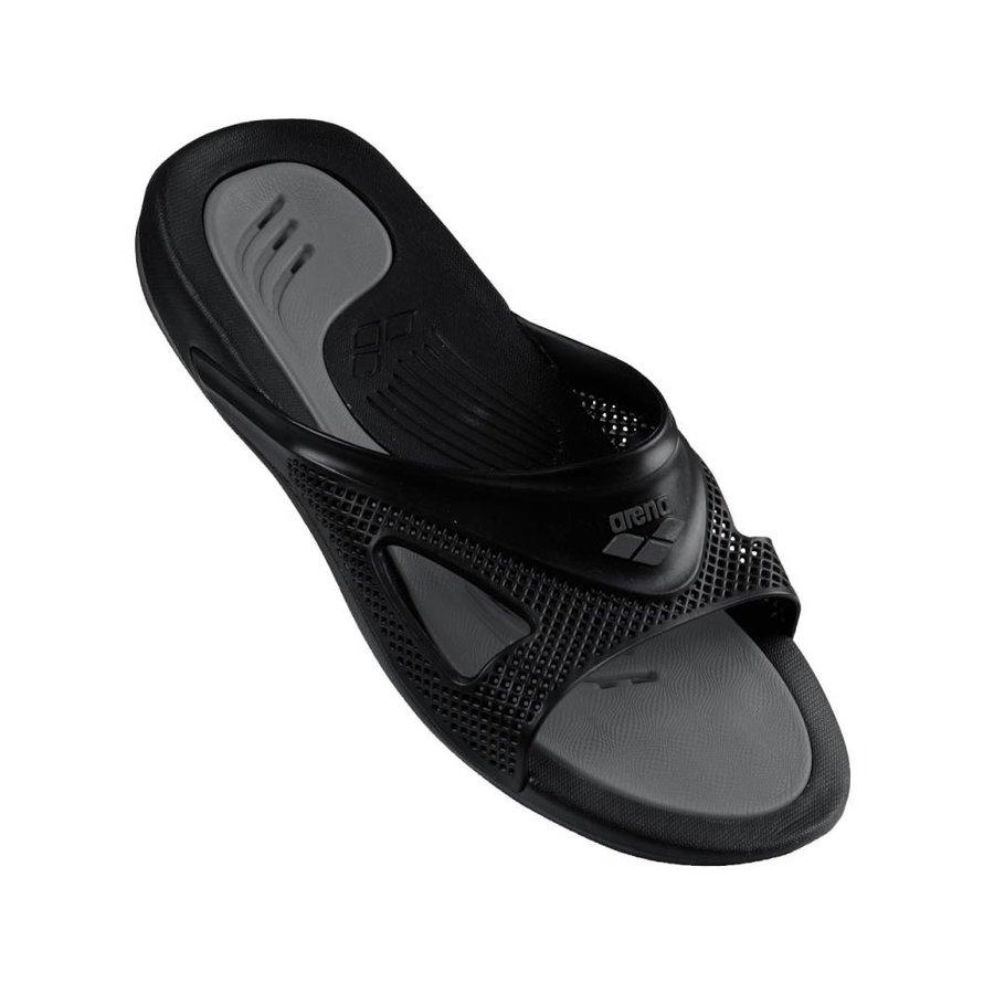 Arena Slippers Hydrofit Heren Zwart-Grijs
