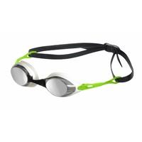 Arena Zwembril Cobra Spiegel Zilver-Groen