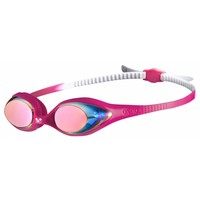 Arena Zwembril Junior Spider Spiegel Wit-Roze