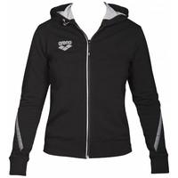 Arena Dames Hooded Jacket Zwart