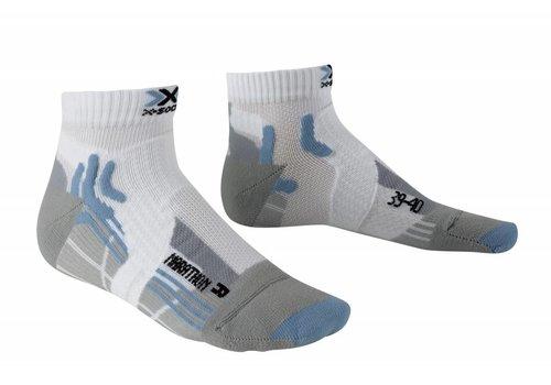 X-Socks Marathon Dames Wit-Blauw