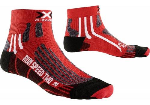 X-Socks Speed Rood-Zwart