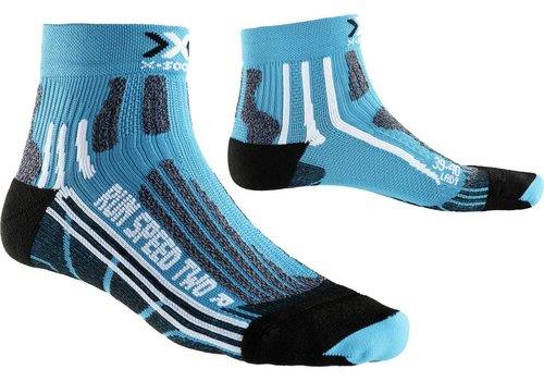 X-Socks Speed Dames Turquoise-Zwart
