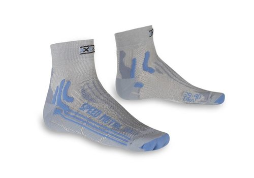 X-Socks Speed Dames Wit-Turquoise