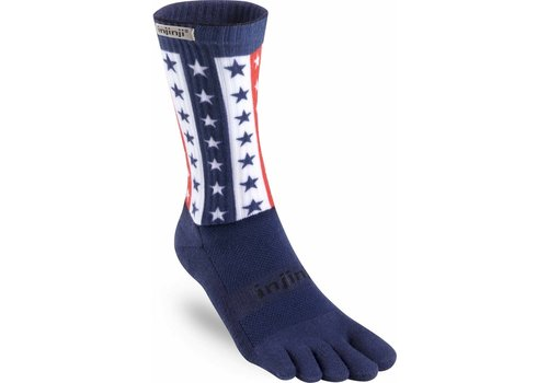 Injinji Trail Midweight Socks C Coolmax 4th of July