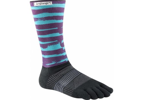 Injinji Womans Trail Midweight Socks C Coolmax Xtralife Chalky