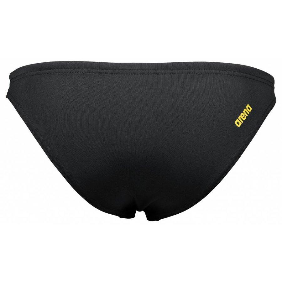 Arena Bikinibroekje Zwart-Geel