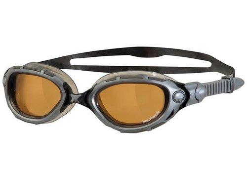 Zoggs Zwembril Predator Flex Polarized Ultra Zilver-Koper