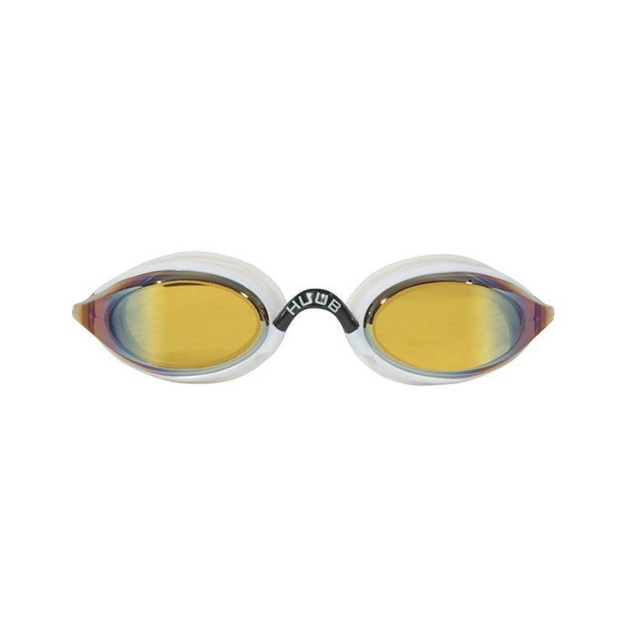 HUUB Zwembril Brownlee Spiegel Wit-Geel