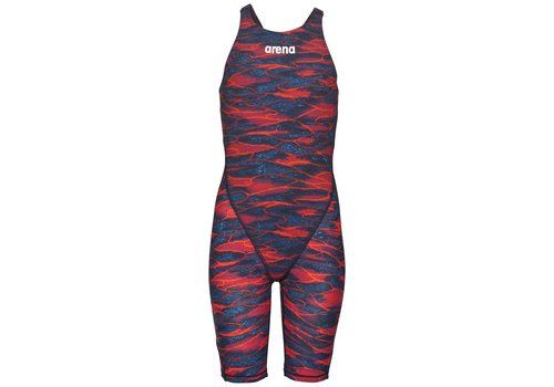 Arena Powerskin ST 2.0 Junior Limited Edition Blauw-Rood