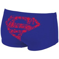 Arena short low waist super Hero blauw