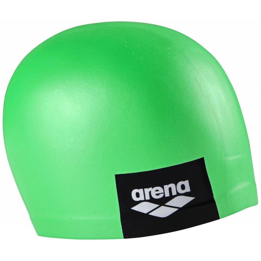 Arena Badmuts Logo Moulded Pea Green