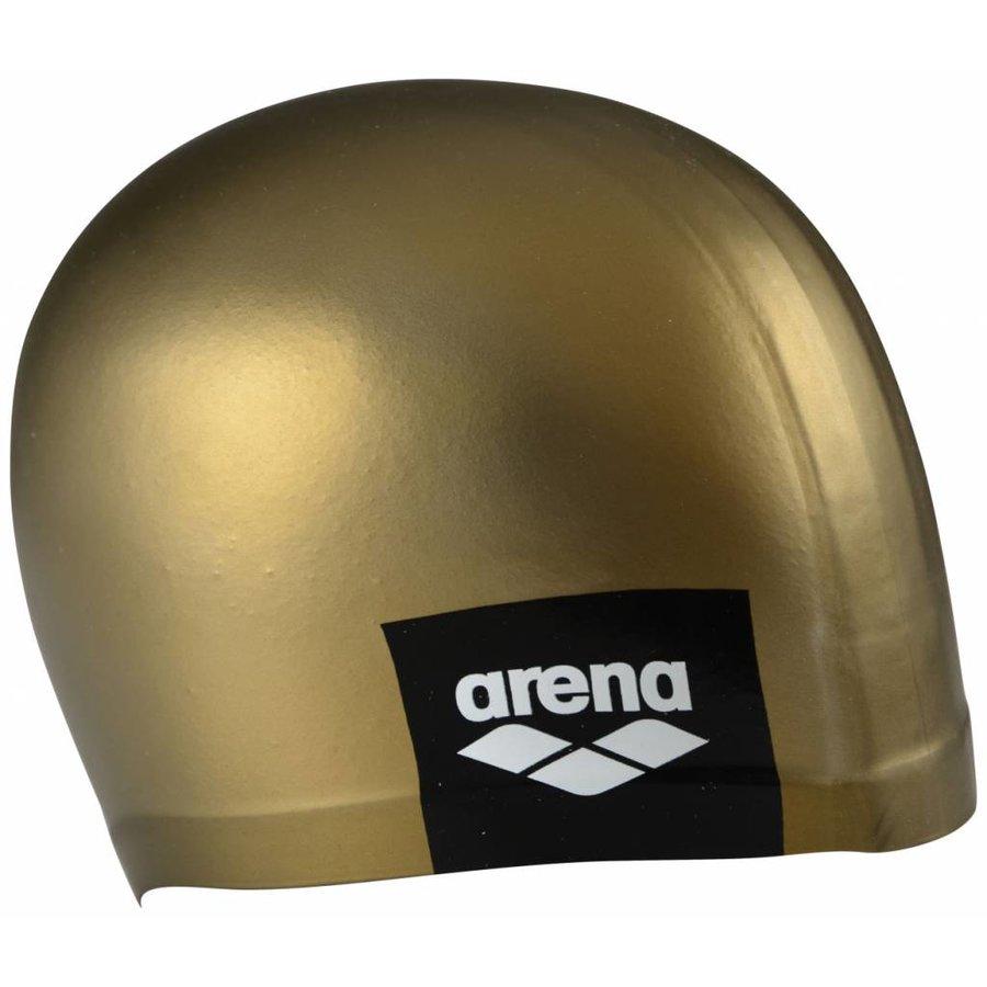 Arena Badmuts Logo Moulded Gold