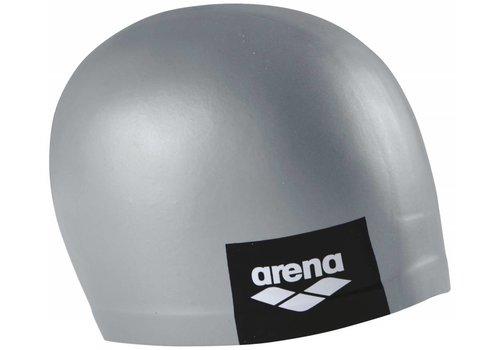 Arena Badmuts Logo Moulded Grey