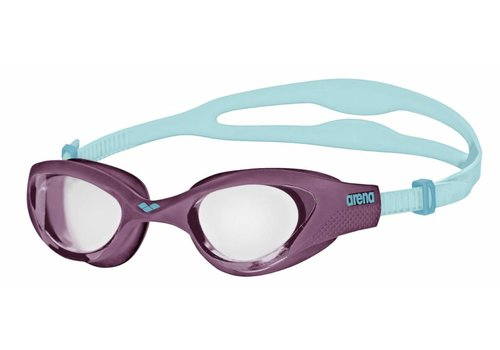 Arena Zwembril The One Clear-Paars-Turquoise