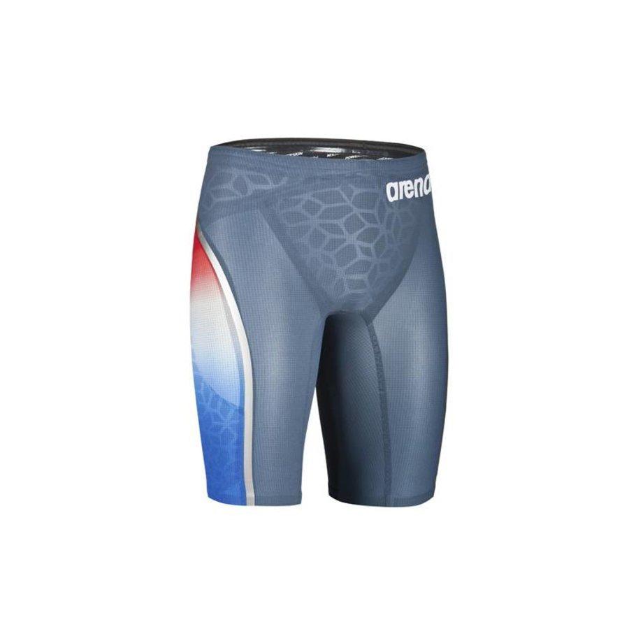 Arena Powerskin Carbon Ultra Jammer Blauw-Zilver