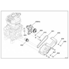 605 BELT TRANSMISSION COVER