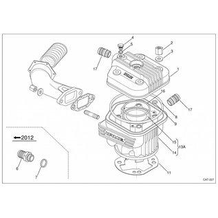 IAME S.p.A. Dichtring Wasseranschluss X30