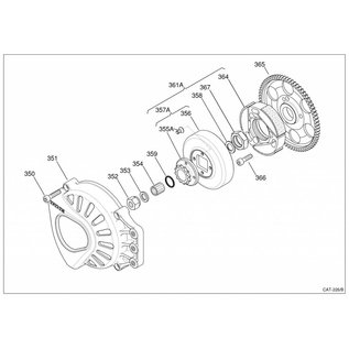 IAME S.p.A. Ritzel Z10 inkl. Schrauben X30