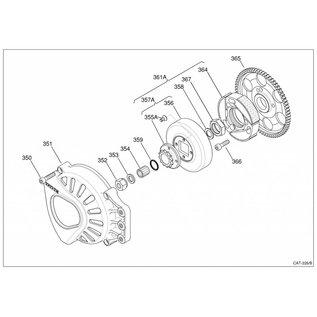 IAME S.p.A. Kupplung komplett mit Glocke und Ritzel Z11 X30