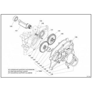 IAME S.p.A. Hülse Getriebedeckel X30