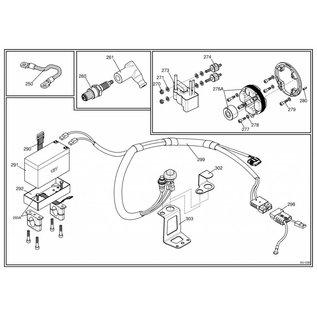 IAME S.p.A. Batteriehalter X30