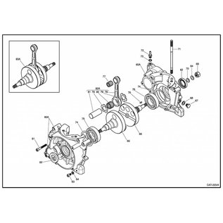 IAME S.p.A. Schraube M6x16 (20 Stück) X30