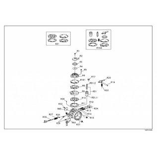 IAME S.p.A. Dichtung Benzinfilterdeckel X30