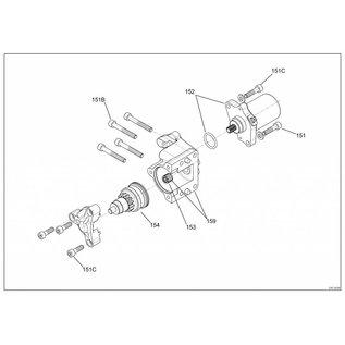 IAME S.p.A. Schraube M6x20 (20 Stück) Waterswift