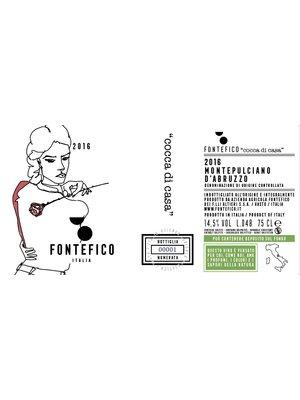 Montepulciano d' Abruzzo 2016- Fontefico  DOC