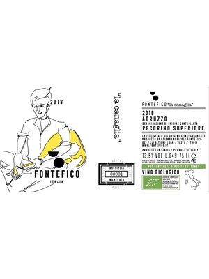 Pecorino Superiore 2018 - Fontefico - DOC BIO