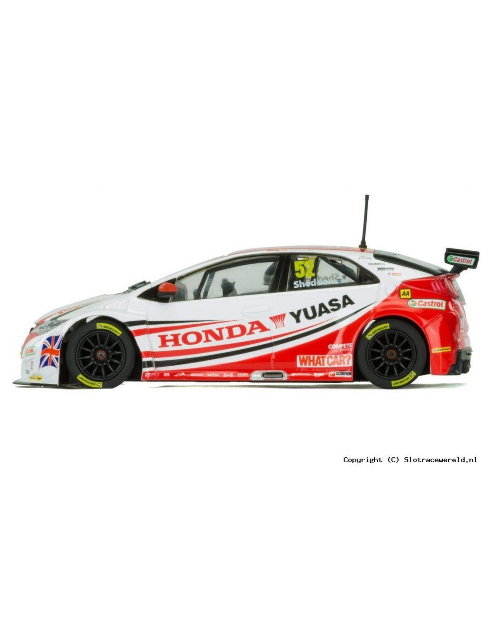 Scalextric BTCC Honda Civic Type R Gordon Shedden 2015 - 1:32 - Scalextric
