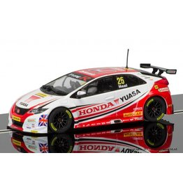 Scalextric BTCC Honda Civic Type R Matt Neal, Donington Park 2015
