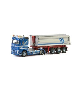 Volvo Volvo FH4 Sleeper Cab 4x2 + Tipper Trailer 3 axle 'August Baustoffe' - 1:50- WSI Models