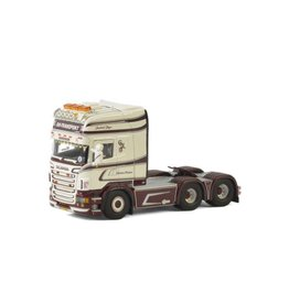 Scania Scania R6 Topline Tractor 6x2 Tag Axle 'GN-Transport' - 1:50 - WSI Models